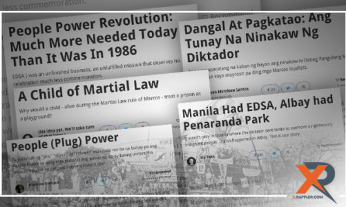 Recalling the past, looking to the future: X users react to #EDSA30